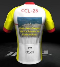 Maillot ccl dos